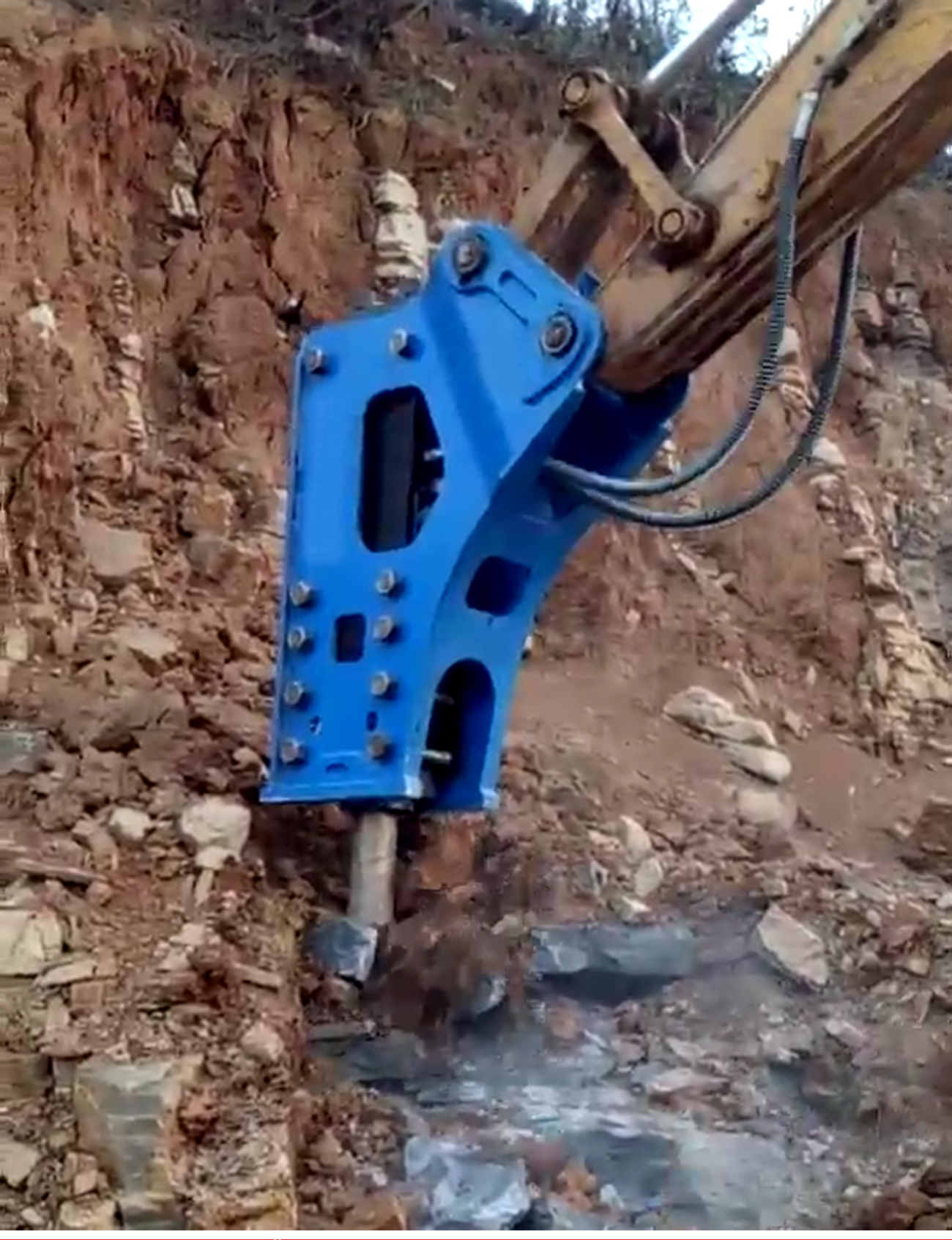 Excavator parts attachments hydraulic jack hammer,rock hammer for sale