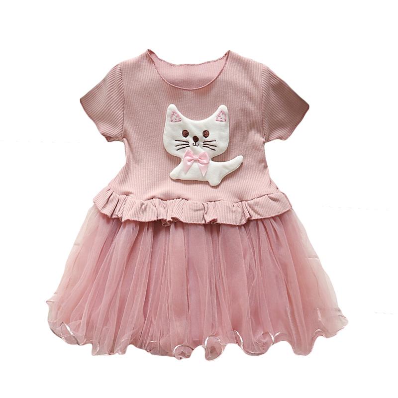 Vestido Formal diseño Girls Pink desgaste del partido vestidos ...