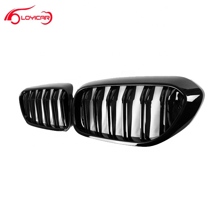 Voor BMW G30 2017 + M-prestaties ABS Gloss Black Front Grill
