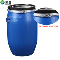 HENGXIN 30L 60L 100L 120L Chemical plastic bucket/Drum/Pail/Barrel