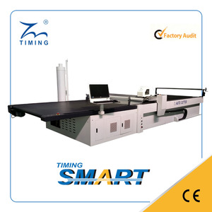 computerized automatic cutting machine CNC fabric auto cutter multi ply straight knife cutting machine full automates price