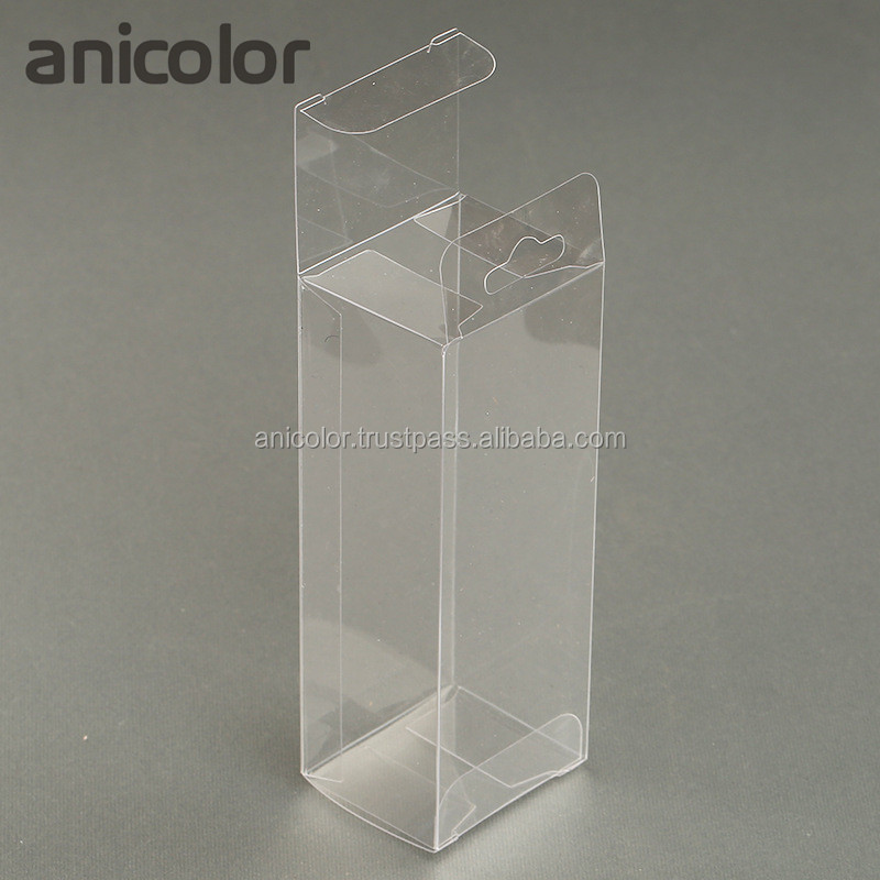 Customized Hanging Display Clear Plain Blank PVC Plastic Packaging Box
