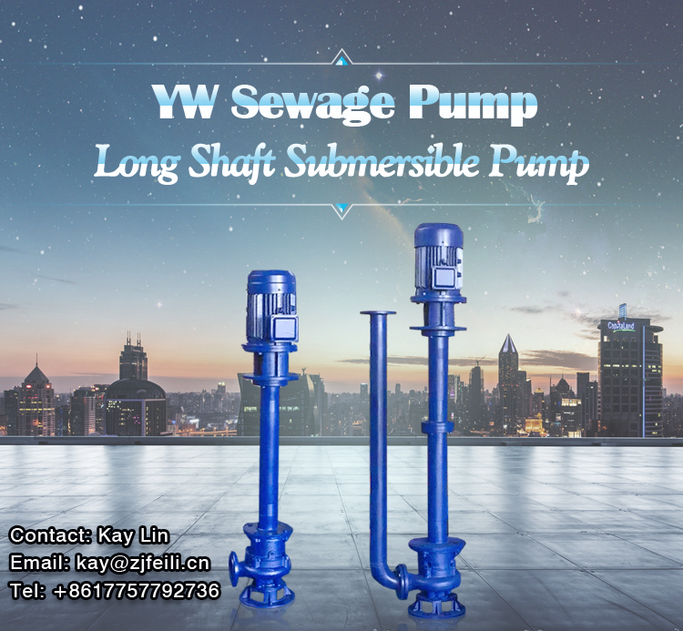 stainless steel dual pipe deep submersible vertical sewage pump for chemical industries long shaft submersible sump slurry pump