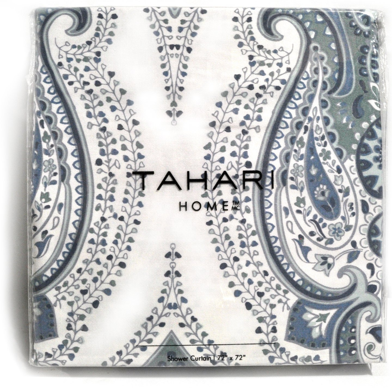 Buy Tahari Shower Curtain Mica Paisley Medallion Print In