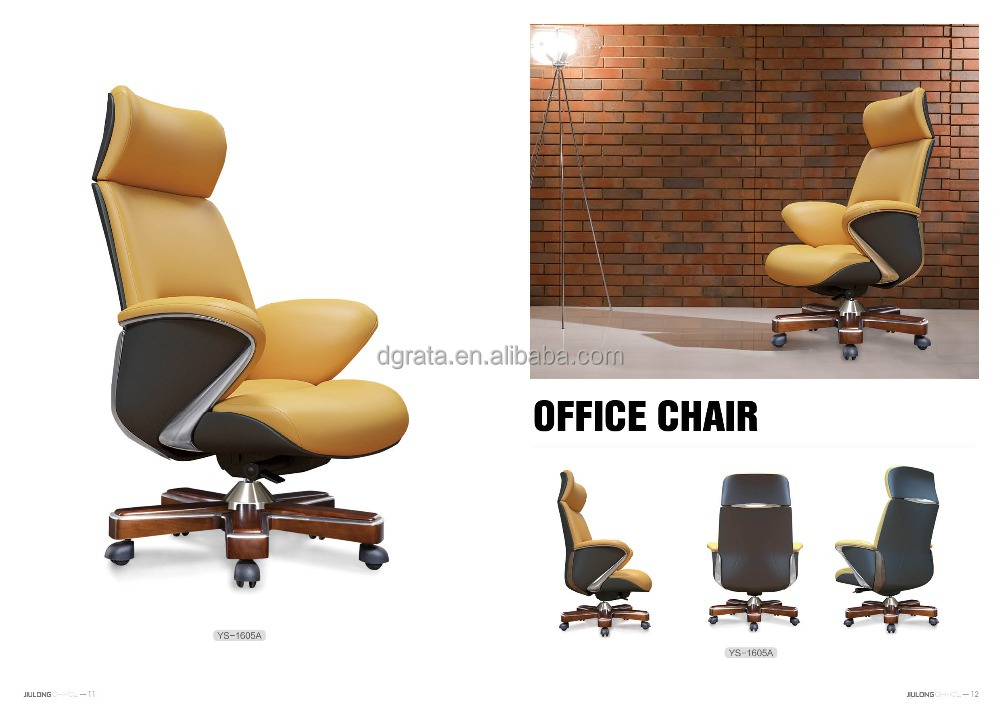 360 degree swivel office executive chair leather chair new designchair for office furnitures