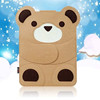 Cute animal tablet case for ipad,shockproof tablet case for girls