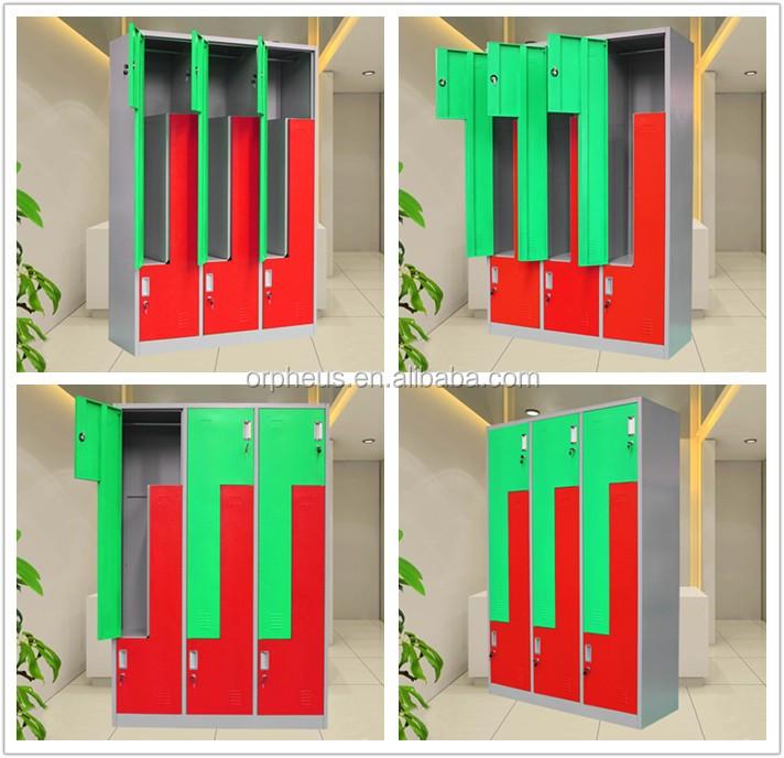Specialty Z Lockers Two-tone Locker Cabinet Clothes Cupboard