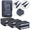 For Sony NP-F970 NP-F960 camcorder camera battery Digital rapid single charger
