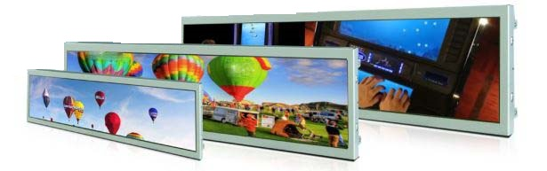 hot new ultra Wide stretched Bar LCD advertising display/ads player LCD  commercial Ultra Stretch Screen, View led commercial advertising display