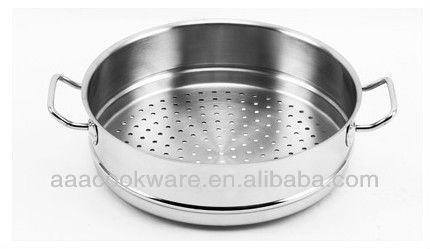 High quality Promotion series Stainless steel kitchenware steamer for wholesale