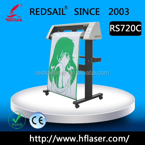 Redsail Durable With Contour Vinyl Cutting Plotter Rs720c