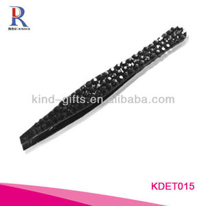 Colorful Rhinestone Eyelash Tweezers In Beauty And Personal Care