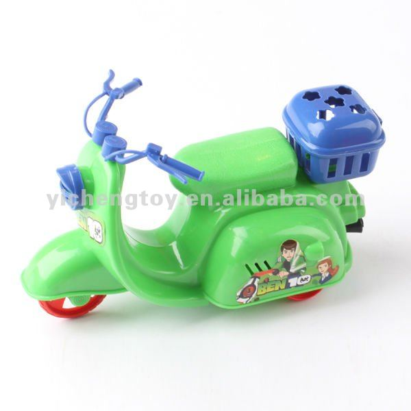 plastic antique car toys