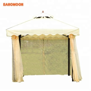 Chinese Style High Quality Balcony Metal Garden Pavilion Gazebo