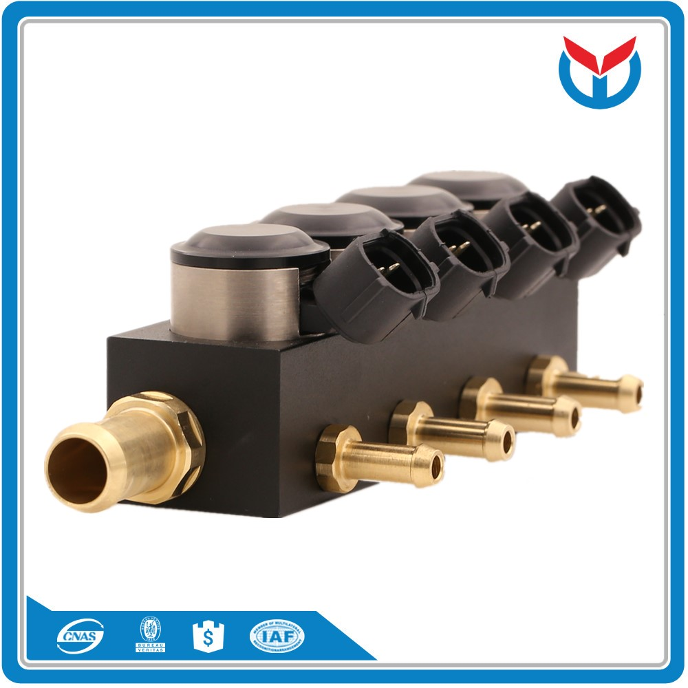 YCI04001 Oem Gas Apparatuur 4Cyl Cng Injector Rail Voor Auto