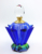 Lotus flower shaped k9 crystal empty perfume bottles