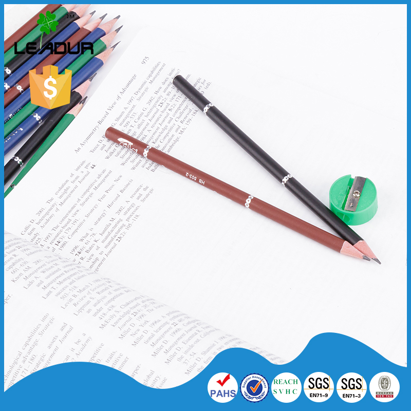 High Quality Round Shape Printing HB Pencil