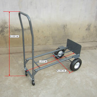four wheel hand truck folding dolly cart