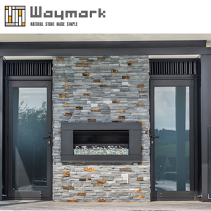 Color Number 13 gray Natural Slate wall panel