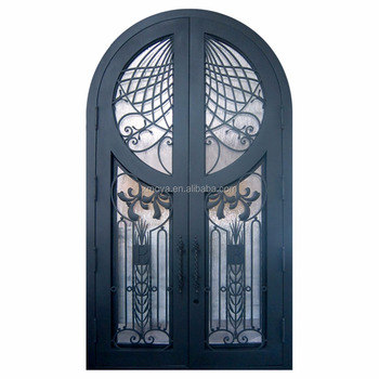 New Iron Grill Window Indian Main Door Designs Double Door Buy
