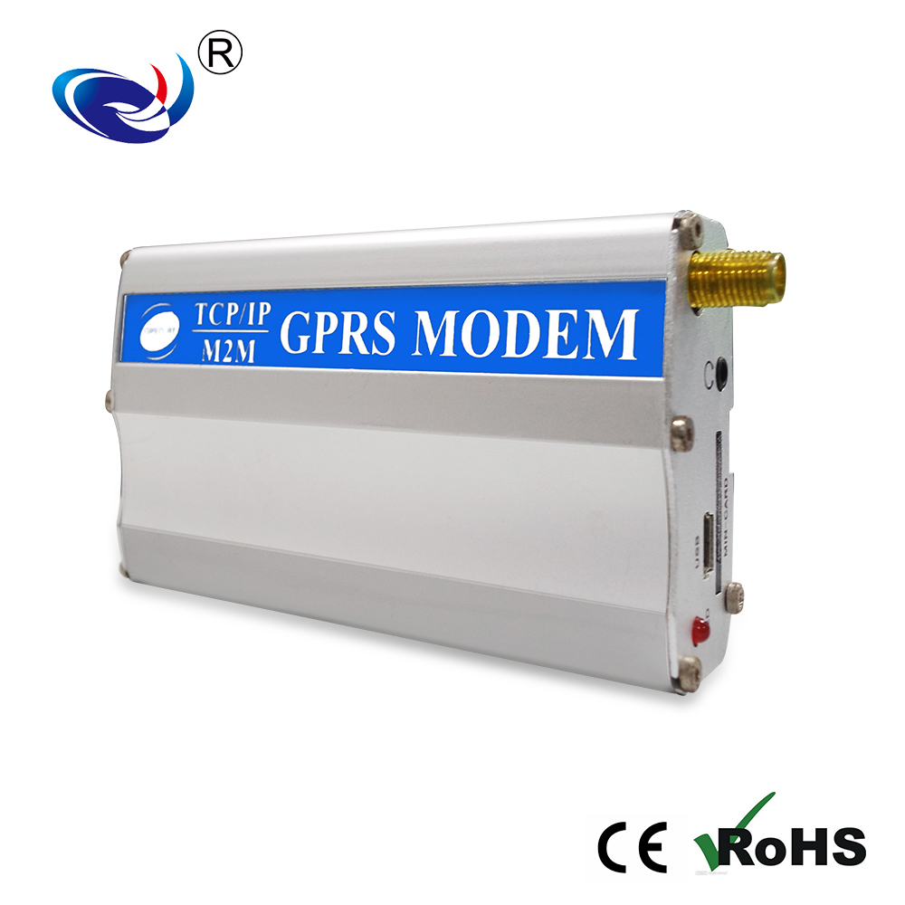 Open at support TCP/IP m2m GPRSGSM 3G Modem wavecom module Q2687 Q2686 Q2698 RS232 Modem db9 support at command bulk sms device