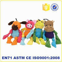 Wholesale cheap cat and dogs toy manufacture plush pet toy