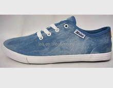 Wholesale new model summer casual canvas flat vulcanized rubber sole shoes