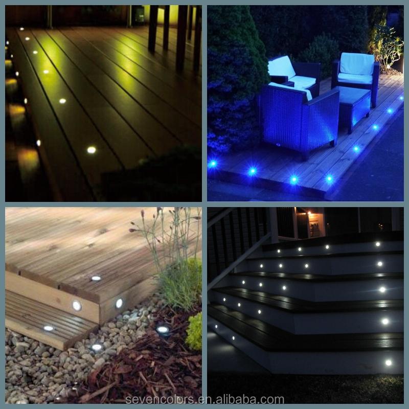 Buried In Concrete Driveway Dek Dots Led Deck Lights