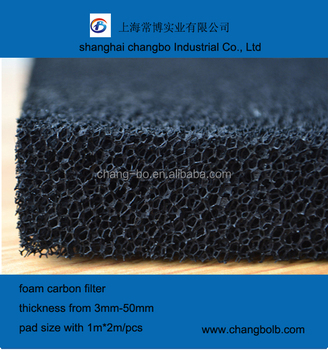 Odor Absorber Activated Carbon Media/activated Carbon Filter Mesh ...