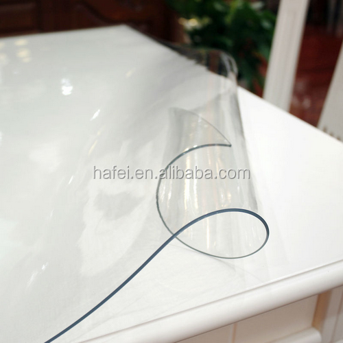 transparency table cover waterproof fabric pvc tablecloth