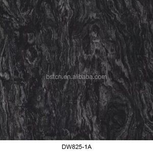 Plastic Application PVA Film Material Type water transfer printing film black wood for cubic printing in car interior