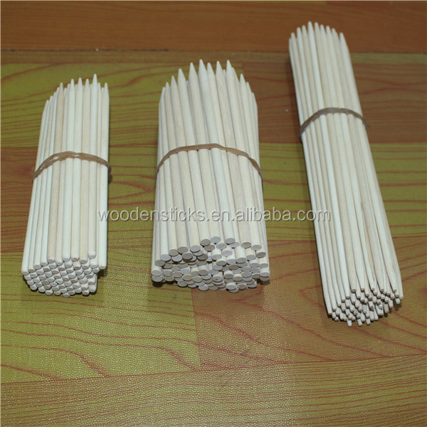 wholesale disposable high quality top selling wooden finger food sticks