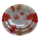 Tempered Glass Dishes Homeware/Attractive Appearance Charger Plate