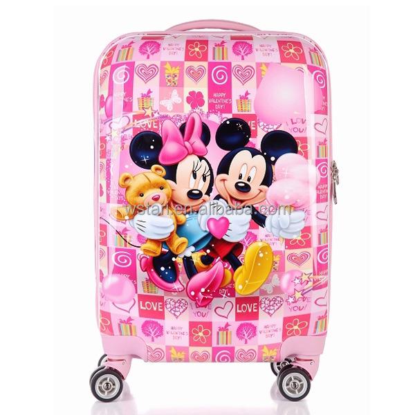 Cartoon Cute Kids Trolley Bag,Rolling Luggage Case,Suitcase - Buy ...