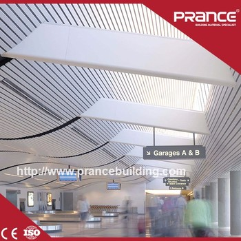 Aluminum Suspended False Perforated Metal Ceiling Tiles