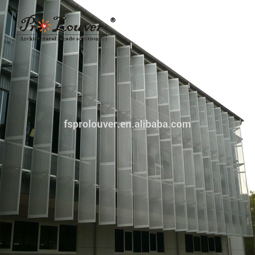 Eksterior Logam Berlubang Panel Aluminium Untuk Fasad