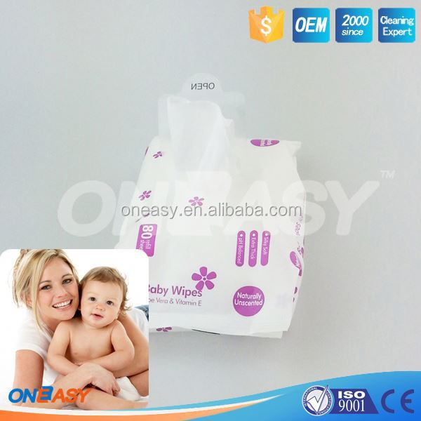 baby care wipe organic 80ct babywipe