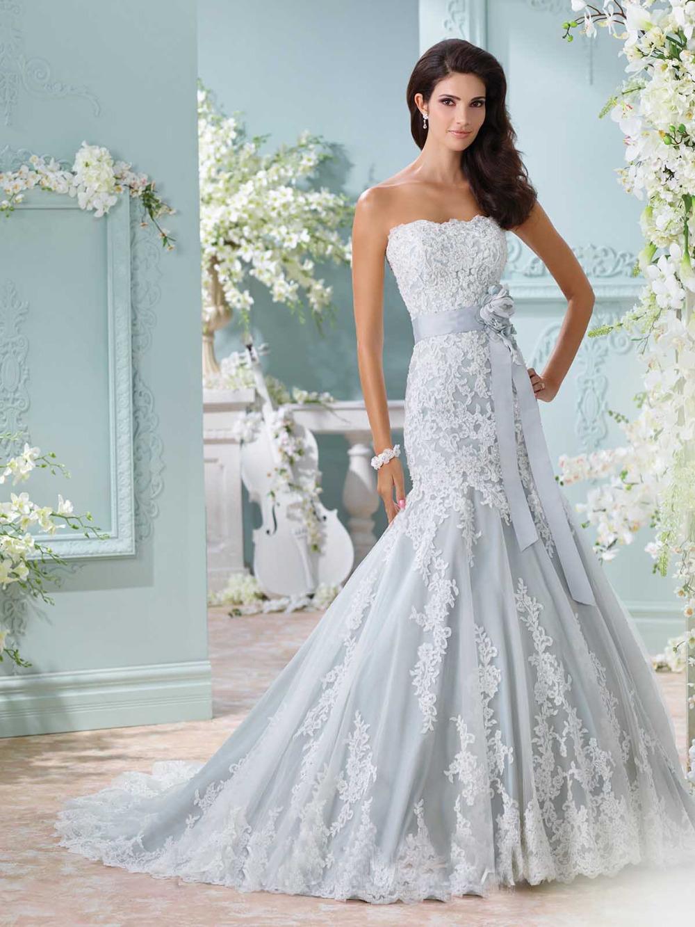 Blue Wedding Gown: Popular Ice Blue Wedding Dresses-Buy Cheap Ice Blue
