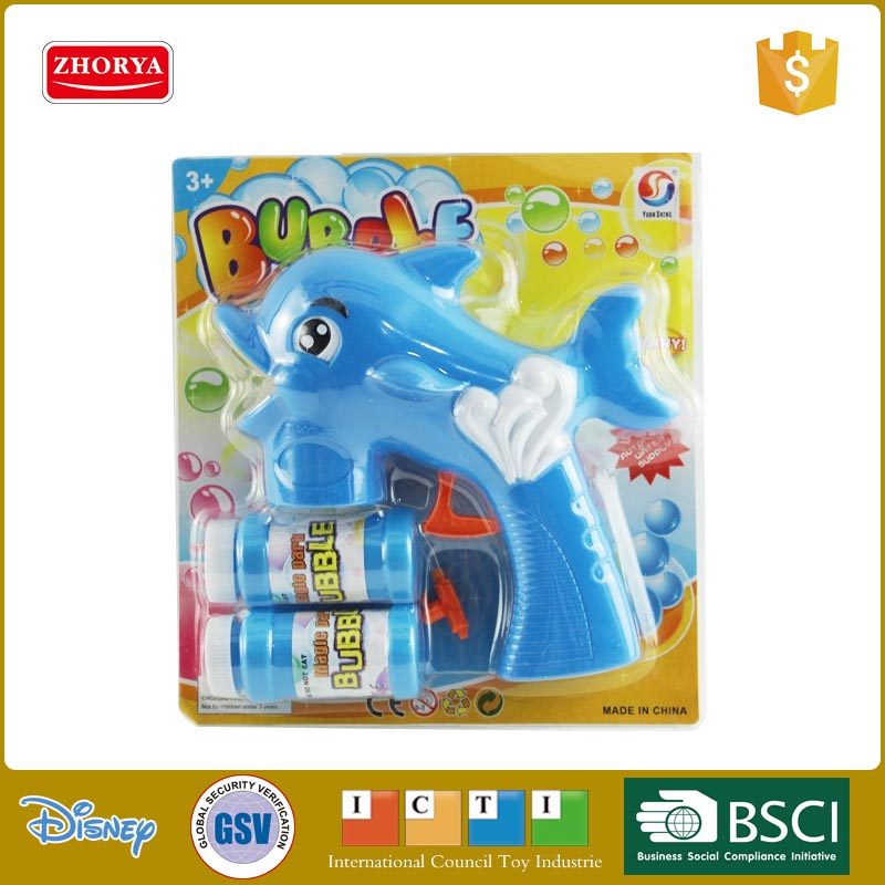 kids toy gun bubble water plastic bubble game water toys dolphin bubble gun toys