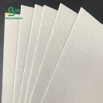 Folding Resistant 1MM 2MM 3MM Thick 70 * 100cm Grey Carton for Packing Box