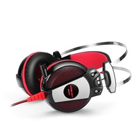 Wholesale Super bass good quality headphone LED gaming computer headsets with microphone
