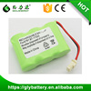 best price 3.6v nimh battery pack replacement for BT-17333 cordless phone battery