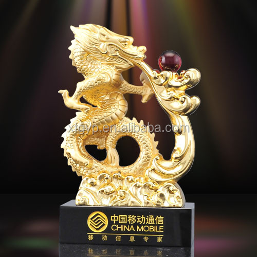 2014 Chinese best-selling antique dragon statue
