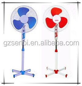 16 inch cross base cheap price 220 volt quiet stand pedestal fan
