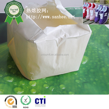 Transparent block super shoe glue for spray type machine