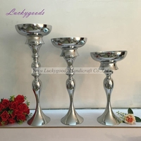 LDJ979 metal mermaid shape candlestick wedding centerpiece event road lead flower stands table decoration