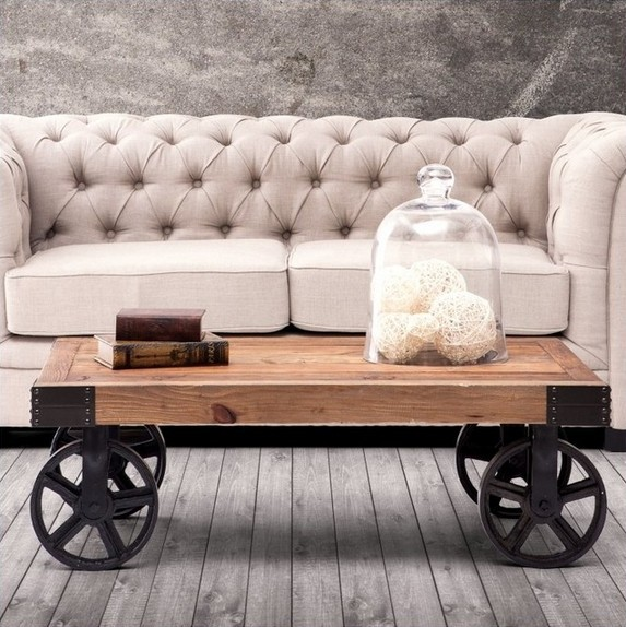 Vintage Metal Coffee Table Furniture: Antique Table Wheels Promotion-Shop For Promotional
