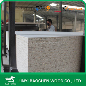 Linyi plain particle board/4'x8', 5'x8'/ particle board plant 30mm/ melamine particle flakeboard