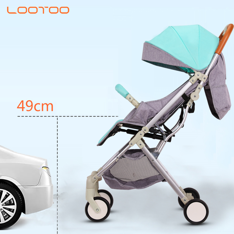 High quality hot sale onekey folding free kids baby stroller tricycle