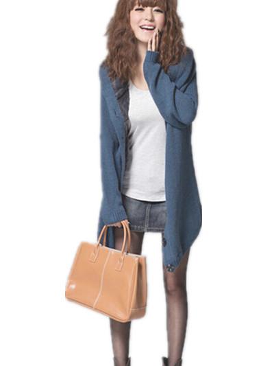 34a3288639 Korean women plus thick velvet coat large size Women s Long Sleeve Coat  Cardigans